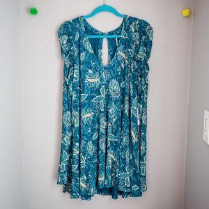 NWT Free People dusty indigo dress